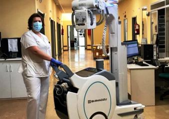 El Gobierno de Castilla-La Mancha dota a los hospitales de Manzanares y Valdepeñas de nuevos equipos de radiología portátil