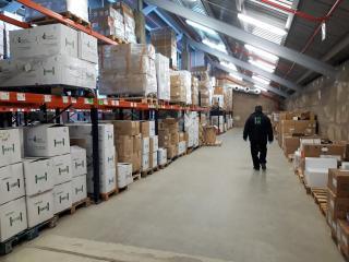El Gobierno de Castilla-La Mancha distribuye más de 178 mil artículos de protección frente al coronavirus en las seis gerencias de Ciudad Real