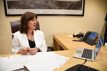 Reunión por videoconferencia con la ministra de Igualdad