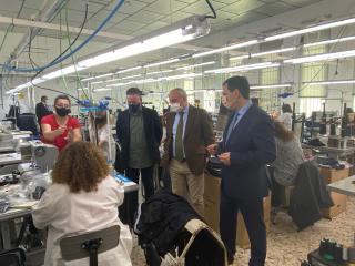 El Gobierno regional destina a 160 pequeñas y medianas empresas de la provincia más de 7 millones de euros para el fomento de la inversión empresarial