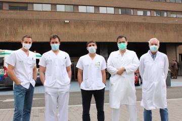 La Gerencia de Atención Integrada de Albacete implanta una novedosa técnica quirúrgica laparoscópica para tratar los cálculos de la vía biliar