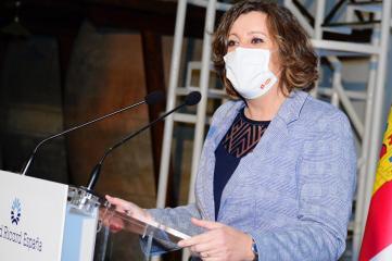 Inauguración de las nuevas instalaciones de la empresa Pernod Ricard España en Las Labores (Ciudad Real) Economía
