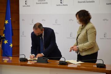 Patricia Franco asiste al acto de constitución del Consejo de Economía Social de Castilla-La Mancha