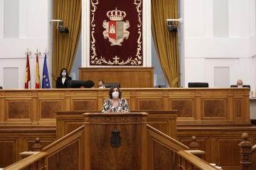 Patricia franco interviene en las Cortes