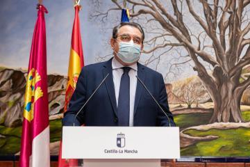 Firma de convenio en materia de carreteras con la Diputación de Albacete (Sanidad)