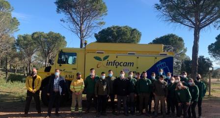 El Gobierno regional colabora a través de GEACAM en la formación profesional de los estudiantes de ciclos relacionados con el medio natural y forestal