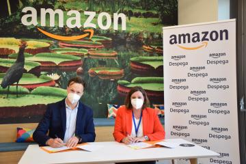 El Gobierno de Castilla-La Mancha y Amazon firman un convenio de colaboración para impulsar las ventas internacionales de las pymes de la región a través de internet
