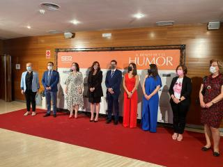 La consejera de Igualdad y portavoz del Gobierno regional, Blanca Fernández, asiste a la inauguración del Congreso del Bienestar 'El Bienestar y el humor'