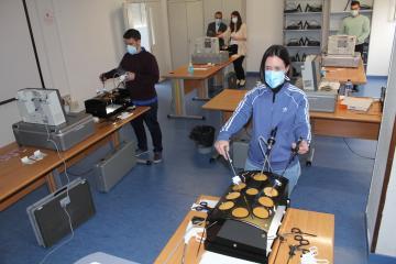 El Hospital de Toledo, elegido de nuevo como sede para la formación de médicos residentes de Castilla-La Mancha en cirugía laparoscópica