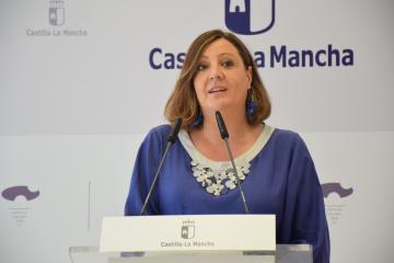 La consejera de Economía, Empresas y Empleo, Patricia Franco, comparece en rueda de prensa para analizar los datos de la Encuesta de Población Activa correspondientes al segundo trimestre de 2021