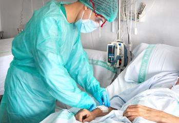 Nueva reducción de hospitalizados por COVID-19 en Castilla-La Mancha