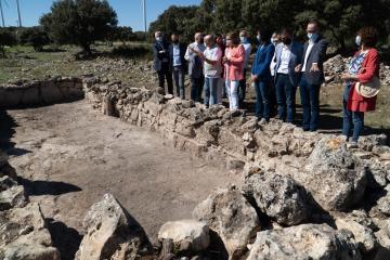 La Junta destaca el compromiso con la investigación arqueológica reflejado en descubrimientos como el de la mezquita del s.XI hallada en 'La Graja'
