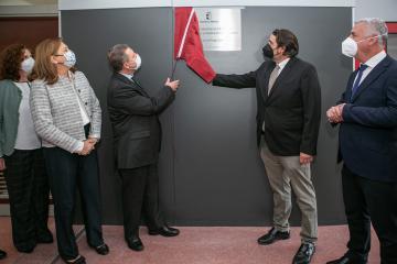 Inauguración de la ampliación del IES 'Alejo Vera' (Educación)