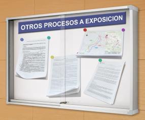 Otros procesos a exposición pública en materia de medio ambiente