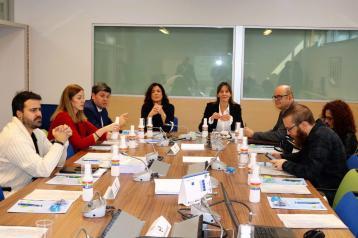 Reunión de trabajo con gobierno Vasco