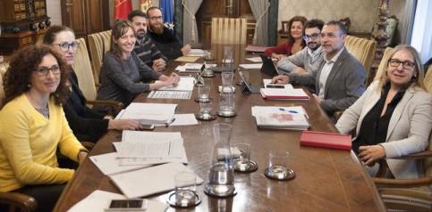 Reunión de trabajo con Gobierno Navarro