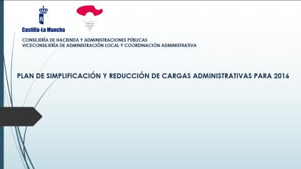 Foto Plan simplificación y reducción de cargas 2016