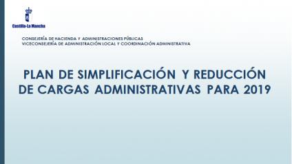Foto Plan simplificación y reducción de cargas 2019