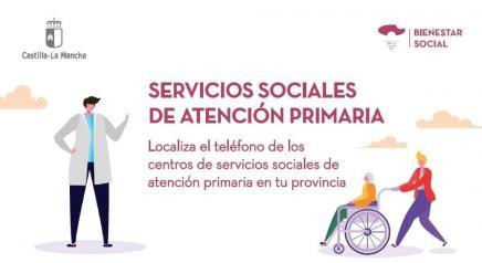 Teléfonos de los centros de sociales de atención primaria