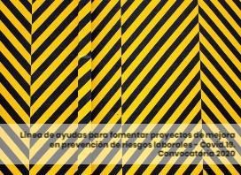 Línea de ayudas para fomentar proyectos de mejora en prevención de riesgos laborales - COVID19 - M2 y M3. Convocatoria 2020
