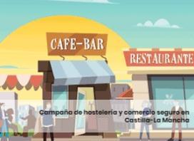 Campaña de hostelería y comercio seguro en Castilla-La Mancha