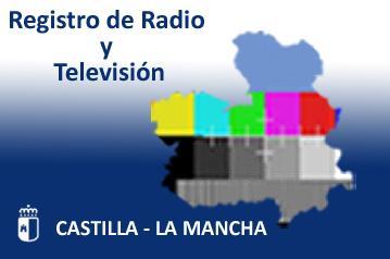 Icono Registro de Radio y Televisión de Castilla-La Mancha
