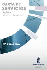 Caratula folleto CS Archivo historico provincial Ciudad Real