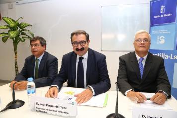 Presentación del nuevo gerente de Atención Primaria de Toledo