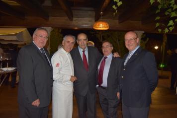 Celebración en Toledo del patrón de los gestores administrativos El Gobierno regional y los colegios profesionales desarrollan una labor común para prestar los mejores servicios a los ciudadanos