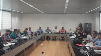 Reunión de la mesa de negociación de los Empleados Públicos