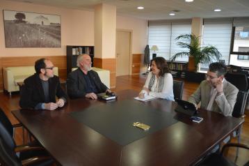 Patricia Franco aborda con el Colegio de Arquitectos de Castilla-La Mancha la formación en nuevas tecnologías para sus colegiados