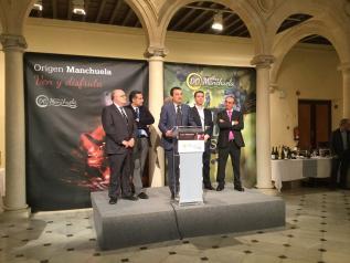 """Presentación del Salón del Vino de la Denominación de Origen """"Manchuela"""" en Albacete"""