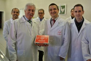 Martínez Arroyo destaca que Castilla-La Mancha es líder en la avicultura de puesta y puntera en la producción de huevos