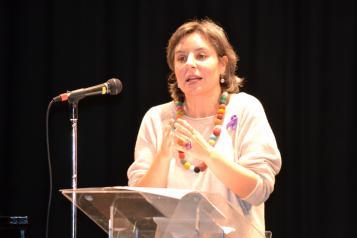 Araceli Martínez alerta sobre las múltiples parcelas de desigualdad que aún persisten en la sociedad