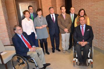 Aurelia Sánchez entrega a Tecnove el sello de calidad Bequal por la integración laboral de personas con discapacidad
