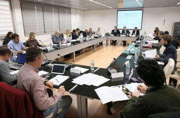 El consejero de Agricultura, Medio Ambiente y Desarrollo Rural, Francisco Martínez Arroyo, asiste a la reunión del Consejo Asesor de Medio Ambiente de Castilla-La Mancha