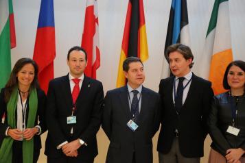 Emiliano García-Page en el Plenario del Comité de las Regiones de la Unión Europea