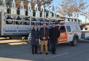El Gobierno de Castilla-La Mancha finaliza la entrega de medios materiales concedidos este año a 158 agrupaciones de Protección Civil