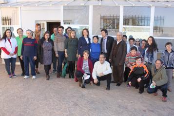 """Visita al Centro Ocupacional """"El Romeral"""" de Mota del Cuervo (Cuenca)"""