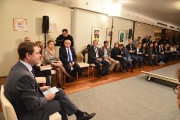 Desayuno informativo del presidente García-Page en Albacete