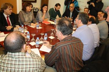 La consejera de Economía mantiene una reunión con el Comité de Empresa de Elcogas