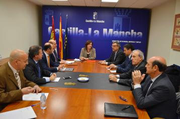 Reunión con el Clúster Aeronáutico de Castilla-La Mancha