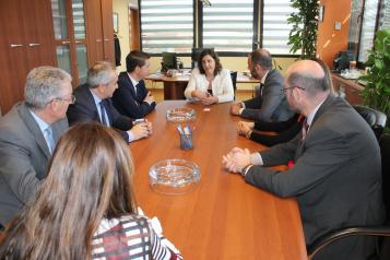 """Patricia Franco asegura que el Gobierno regional apoya solamente iniciativas empresariales """"sólidas y serias"""""""