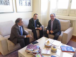 Ruiz Molina analiza con el alcalde de Villacañas los proyectos para relanzar la economía local