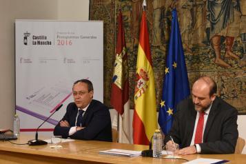 El Gobierno de Castilla-La Mancha destinará en 2016 cerca de 900.000 euros más al día a reconstruir el Estado del bienestar