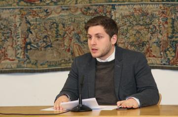 l portavoz del Gobierno regional, Nacho Hernando, durante su comparecencia en rueda de prensa, para informar sobre los acuerdos del Consejo de Gobierno