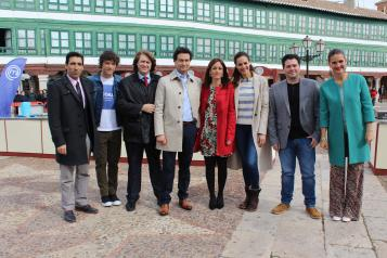 MasterChef graba en Almagro uno de sus programas, dentro de las acciones de promoción del IV Centenario del Gobierno regional