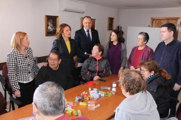 Aurelia Sánchez presenta la convocatoria 2016 del Servicio de Promoción de la Autonomía Personal