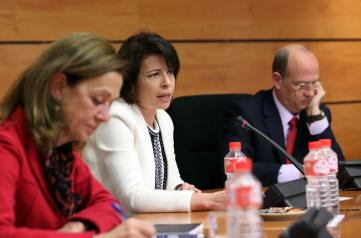 Reyes Estevez comparece en la Comision de Presupuestos
