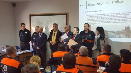 La Escuela de Protección Ciudadana forma a 110 voluntarios de Protección Civil de 33 agrupaciones diferentes